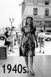 40er Jahre Mode