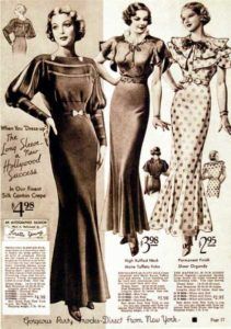 Kleider 20er 30er jahre