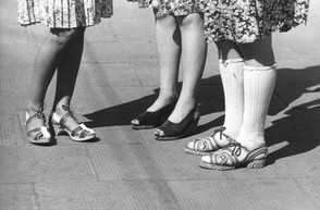 Klassische Damenschuhe aus den 40er Jahren