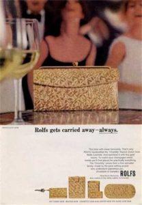 Clutch Handtasche der 50er Jahre