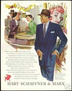 Männermode der 50er Jahre