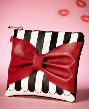 9994-79078-50s-minnie-bow-clutch-with-black-and-white-stripes-full
