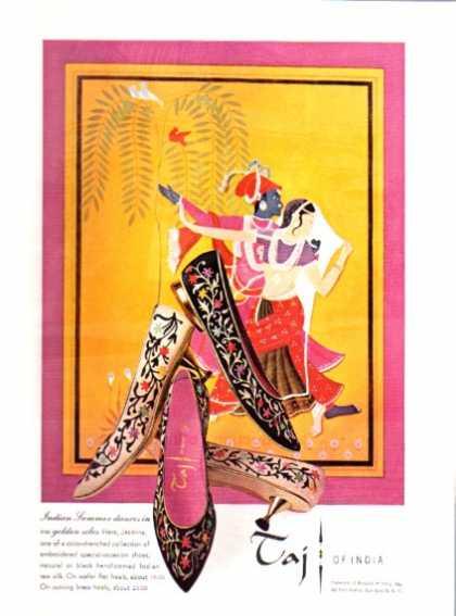 Schuhwerbung für Damen 60er Jahre